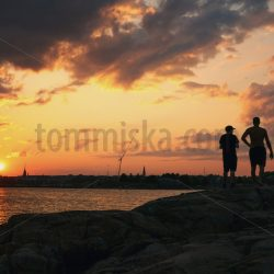 August sunset in Suomenlinna - Arto Tommiska