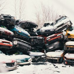 Pile of cars in Tattarisuo 1 - Arto Tommiska