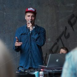 Underground hiphop party in Pasila graffiti gallery 7 - Arto Tommiska
